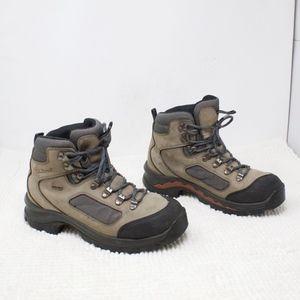 1e0ea6917c5 LL Bean Goretex Leather Hiking Boots Size 9